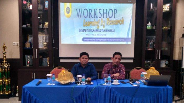 Unismuh Makassar Menggelar Workshop Learnig by Research