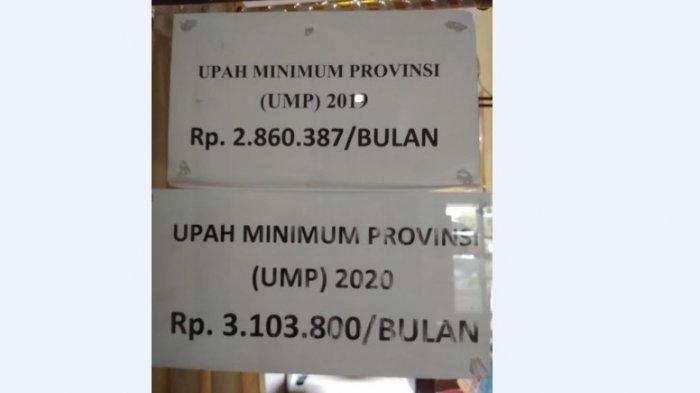 Upah Minimun di Kabupaten Wajo Naik 2020, Segini Nominalnya