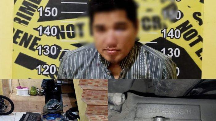 Polisi Tangkap Pelaku Pencurian Motor Jamaah Masjid Babussalam Makassar
