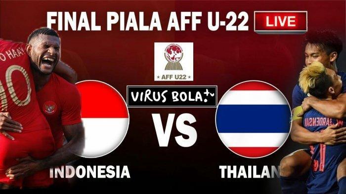 2 Link Live Streaming RCTI & meTube.id Timnas U-22 Indonesia vs Thailand, Nonton Disini Tanpa Buffer