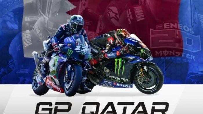 NONTON MotoGP Qatar 2021 via Live Streaming Trans7 & Usee TV: Bagnaia Pole, Dibuntuti 3 Rider Yamaha