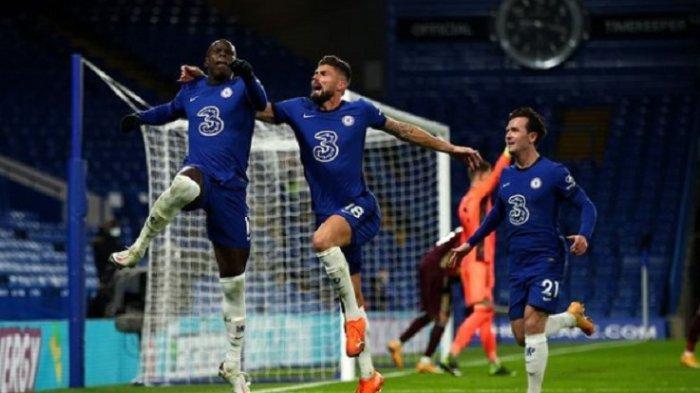 HASIL DAN KLASEMEN LIGA INGGRIS: Chelsea dan West Ham Singkirkan Liverpool dari Zona Liga Champions