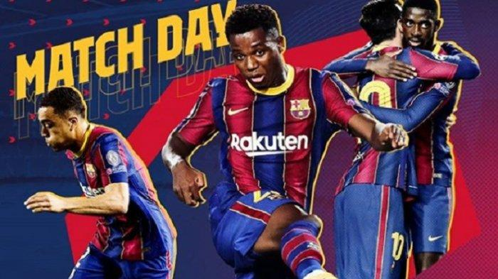 LINK Live Streaming TV Online Barcelona vs Levante Liga Spanyol, Akses Live Streaming di Sini Gratis