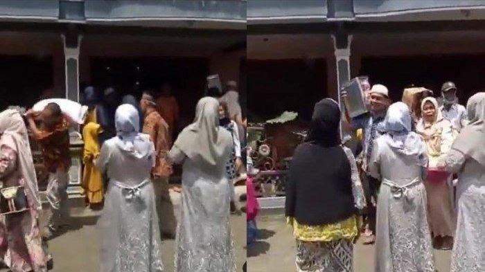 Video Viral Gara-gara Share Loc, Rombongan Pengantin Salah Alamat Terpaksa Seserahan Diminta Balik