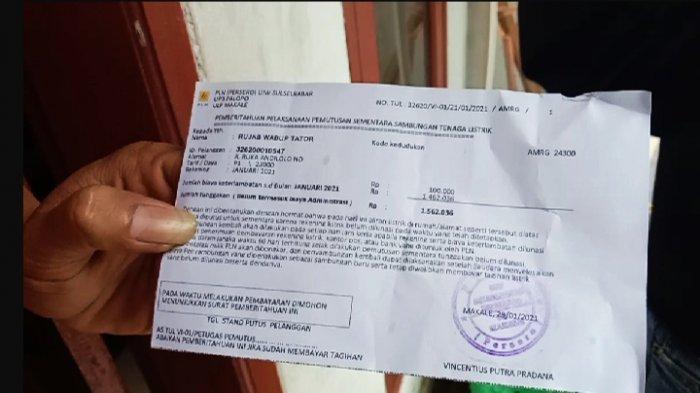 Menunggak Listrik Rp 1,5 Juta, Dukcapil Tana Toraja Tak Punya Uang, PLN: Tak Lunas Malam Ini Dicabut