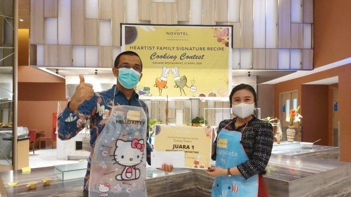Ini Pemenang Live Cooking Contest Novotel Makassar