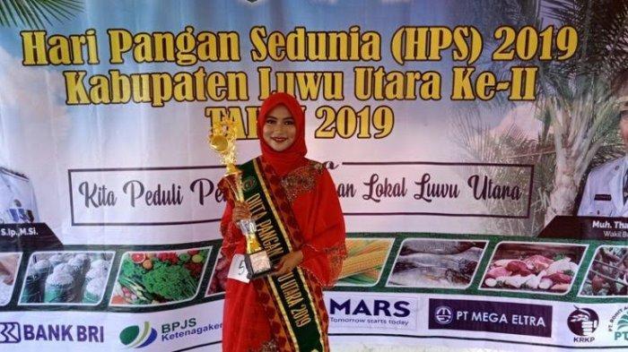 Selamat! Nur Aida Yaumil Achir Jadi Duta Pangan Luwu Utara 2019