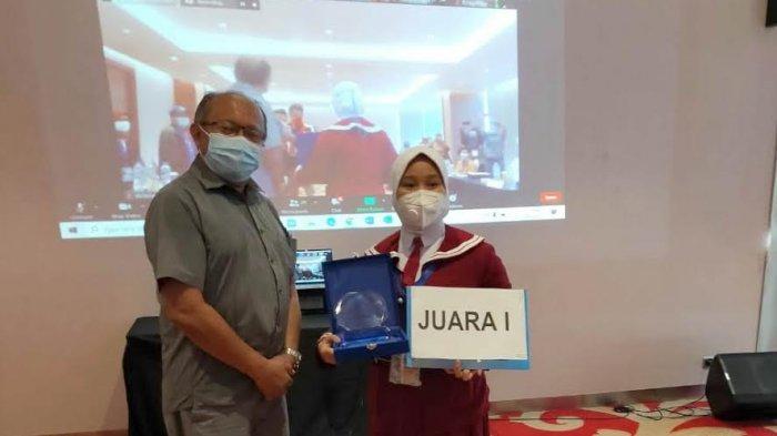 Nur Eka Syahrina Murid SDN Lalebata Palopo Juara 1 Nasional Lomba Menulis