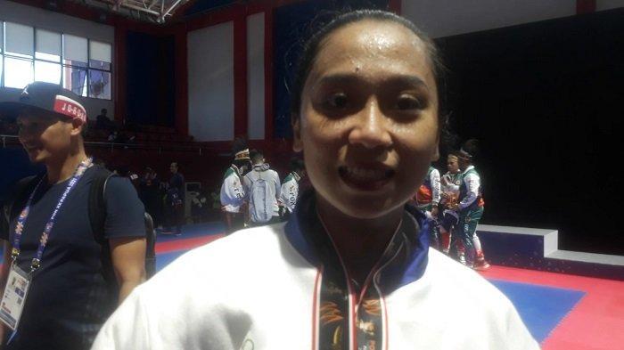 Riska Atlet Karateka Rela Tahan Sakit Demi Persembahkan Emas untuk Sulsel