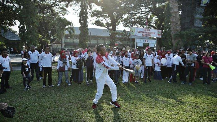 Akhir Pekan, NA Manfaatkan Olahraga Bareng Alumni Jepang