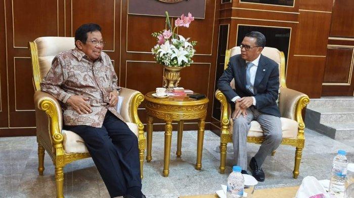 Aksa Mahmud Tawarkan Budi Daya Durian Musang King ke Nurdin
