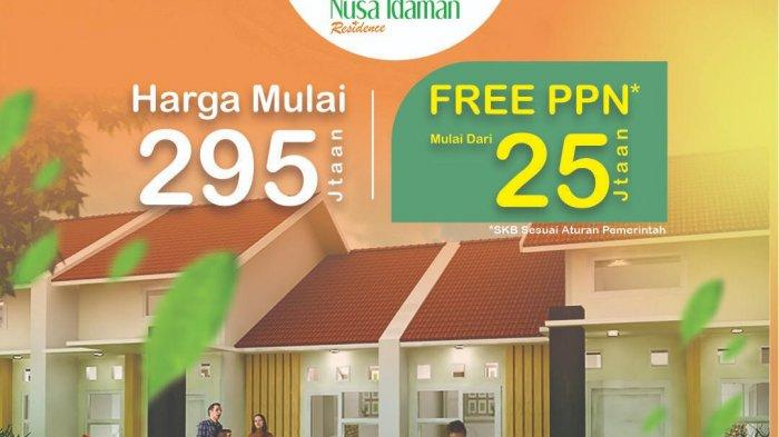 Nusa Idaman Residence Moncongloe Promo Free PPN Mulai Rp 25 Jutaan
