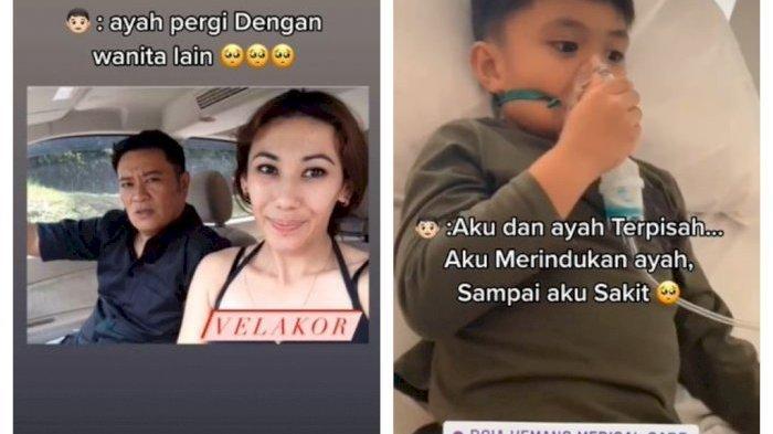 NYESEK! Viral TikTok Anak Curhat Ayahnya Direbut Pelakor, Tinggalkan Ia dan Ibunya: He Lies