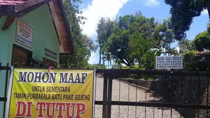 Objek Wisata Batu Pake Gojeng Sinjai Masih Tutup