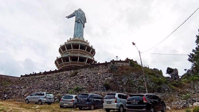Dibuka Kembali, Obyek Wisata Burake Tana Toraja Mulai Dikunjungi Wisatawan Lokal