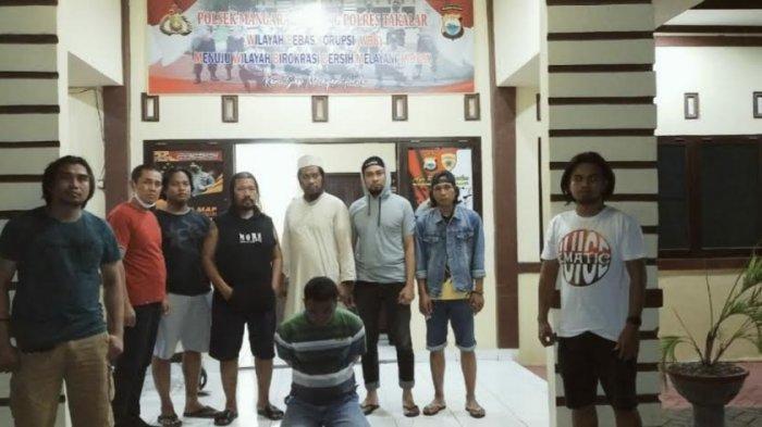 Peras Kades di Wajo, Oknum LSM Asal Jeneponto Ditangkap di Takalar