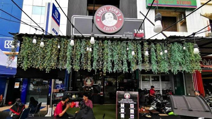 Onkel John's Coffee, Tempat Nongkrong Kekinian di Makassar, Menu Prasmanan Ngopi Mulai Rp 10 Ribuan
