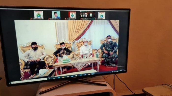 Gubernur Sulbar Ali Baal Masdar Gelar Open House Virtual di Rujab