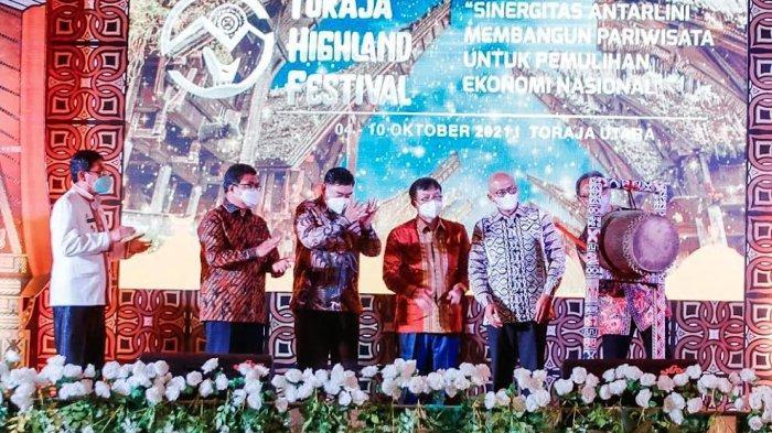 Pembukaan THF di Toraja Utara Dirangkaikan Bulan Inklusi Keuangan