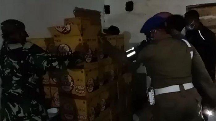 Operasi Tempat Hiburan di Jeneponto, Petugas Amankan Miras dan Alat Kontrasepsi