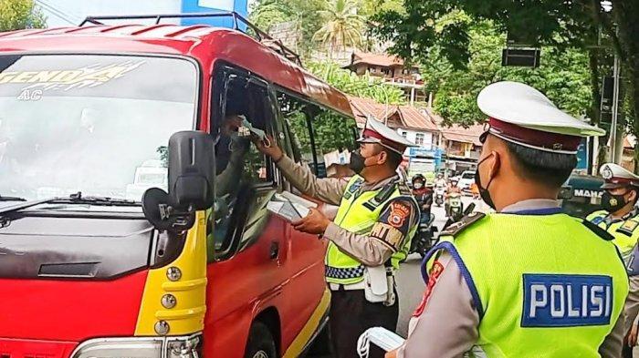 Bukan Tilang, Operasi Patuh di Tana Toraja Prioritas Bagi Masker