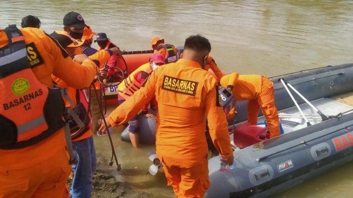 Warga Mamuju Tengah Hilang di Sungai Budong-budong Belum Ditemukan