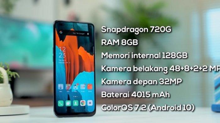 RAM 8GB & Baterai 4015 mA, Segini Harga Terbaru Hp Oppo Reno4 Agustus 2021, Spesifikasi
