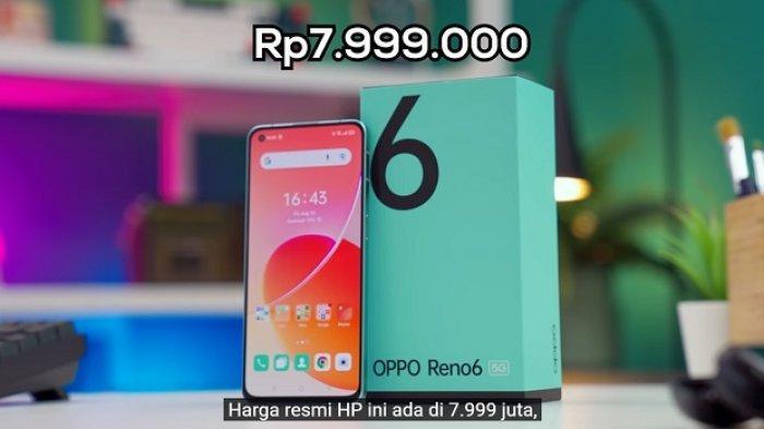 Oppo Reno6 5G resmi dijual di Indonesia sejak Kamis 19 Agustus 2021
