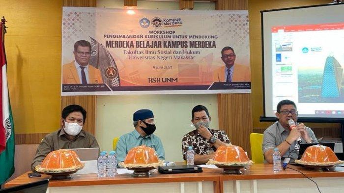 Fakultas Ilmu Sosial dan Hukum UNM Dukung Penuh Kurikulum MBKM