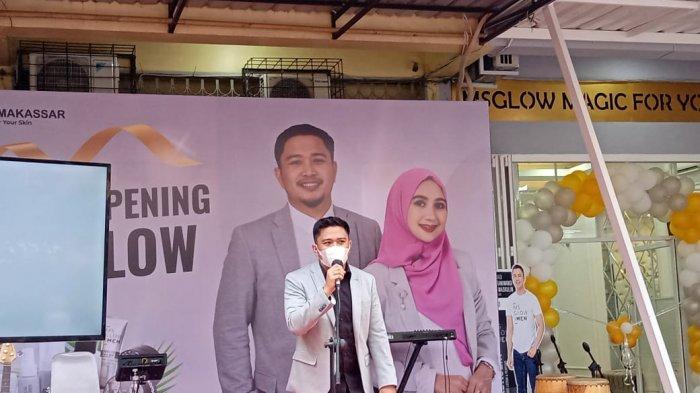 Owner MS Glow Distributor Makassar Beri Santunan Rp 10 Juta ke Panti Asuhan