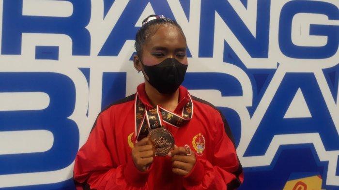 Di Luar Dugaan, Atlet Renang Artistik Sulsel Nurfa Nurul Utami Rebut Medali Perunggu