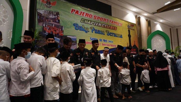 Pajero Sport Family Gelar Buka Puasa Bersama Anak Yatim, Dirangkaikan Perayaan Anniversary