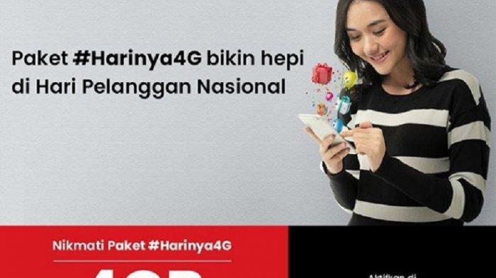 Promo Hari Pelanggan Nasional: Paket Data 4 GB Telkomsel Hanya Rp 10 Ribu: Panduan Cara Belinya