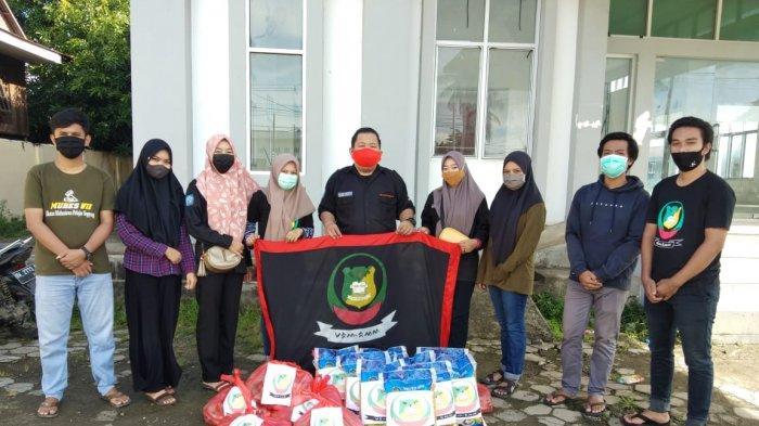 Pandemi Virus Corona, IMPS Rayon Marioriawa Salurkan Bantuan Sembako dan Masker