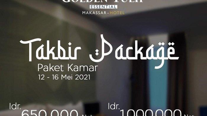 Paket Takbir Mulai Rp 650 Ribu di Golden Tulip Makassar