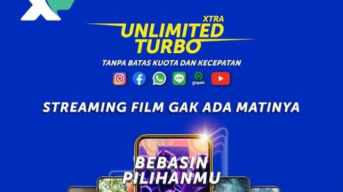 Xtra Unlimited Turbo, Bebaskan Pelanggan XL Prabayar Akses Aplikasi Streaming Film atau Video