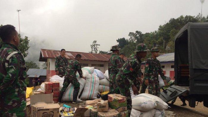 Tiga Pekan Pascagempa, Satgas Divif 3 Kostrad Salurkan Bantuan ke Daerah Terisolir Donggala