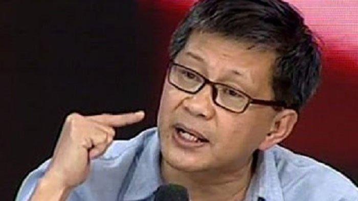 Balasan Rocky Gerung soal Kata-kata Giring Buat Anies: Partai Nol Koma Cuman Cari Panggung