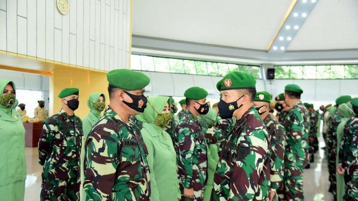 FOTO: 844 Personil Kodam XIV Hasanuddin Naik Pangkat