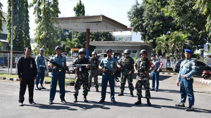 Pastikan Aset Aman dari Pendemo, Lantamal VI Patroli Pengamanan Secara Rutin