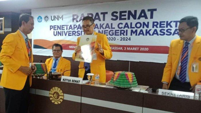 Senat UNM Tetapkan 4 Bakal Calon Rektor Periode 2020-2024, Ada Wanita hingga Punya 6 Gelar Magister - panitia-pemilihan-rektor-pilrek-bersama-dengan-senat-unm-menetapkan-empat-balon.jpg