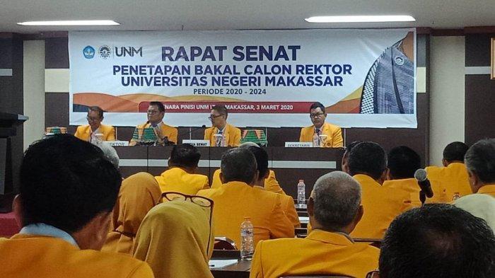 Senat UNM Tetapkan 4 Bakal Calon Rektor Periode 2020-2024, Ada Wanita hingga Punya 6 Gelar Magister - panitia-pilrek-bersama-dengan-senat-unm-menetapkan-empat-bakal-calon-rektor-unm.jpg