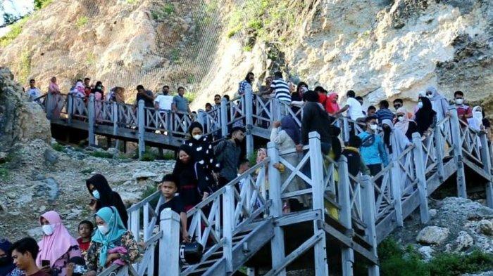 Libur Lebaran, Tanjung Bira Dipadati Lebih dari 2.000 Pengunjung Setiap Harinya