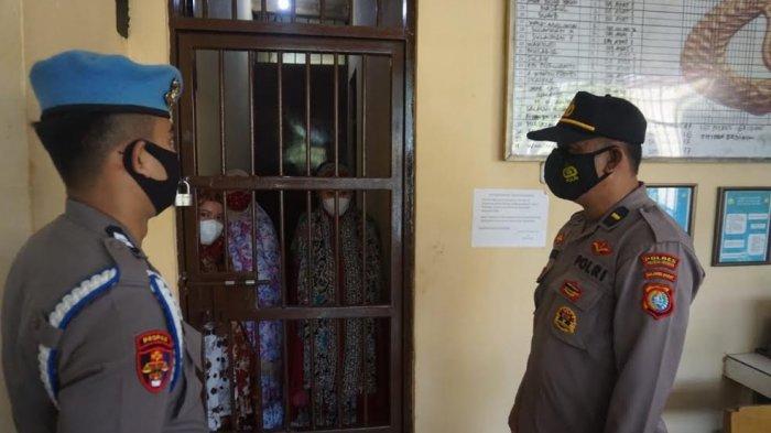 Perwira Pengawas Cek Rutan Polres Polman, Ada Tahanan Kabur?