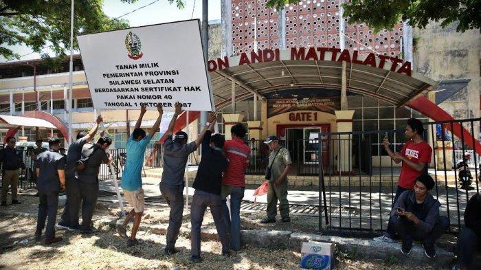 YOSS Ragu Gubernur Nurdin Abdullah Serius Renovasi Stadion Mattoanging, Rp 200 M hanya untuk Memoles