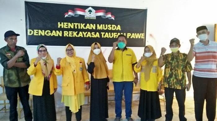 Dijadwalkan Besok, Lima Pimpinan Anak Cabang Protes Jadwal Musda Golkar Sinjai