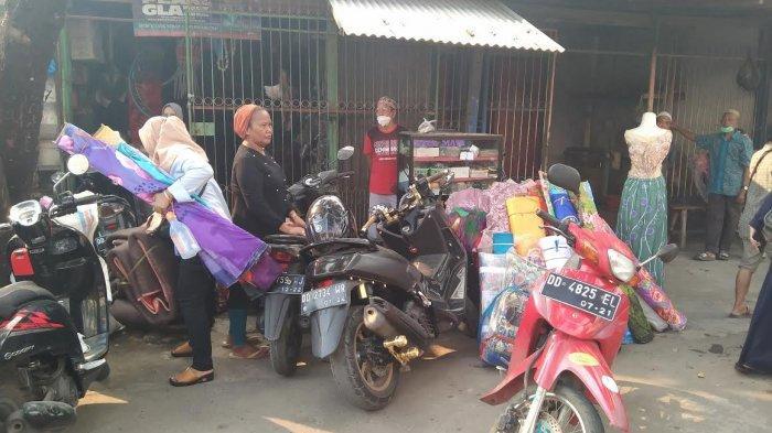Cerita Pedagang Saat Pasar Sentral Pangkep Terbakar