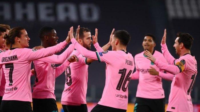 Hasil Barcelona Vs Juventus Liga Champions, Messi Cetak 1 Gol, Si Nyonya Besar Diserang Menit Awal