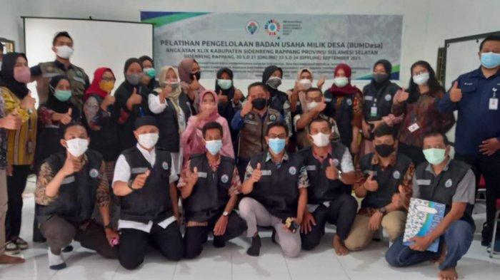 BPPMDDTT Makassar Latih Pengurus BUMDes Sidrap