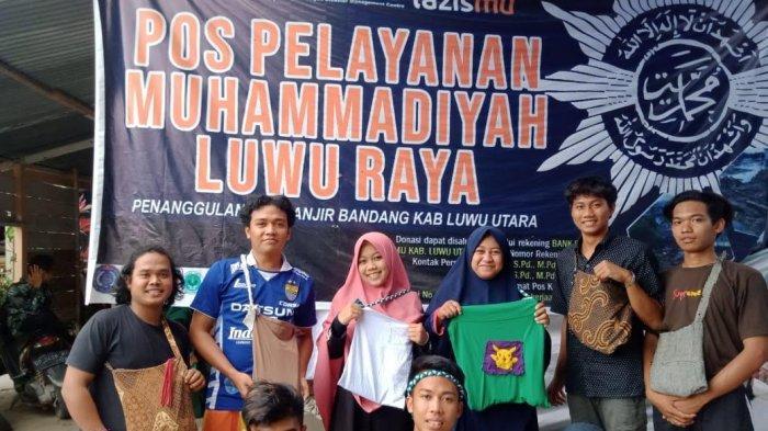 Relawan MDMC Luwu Raya Sulap Pakaian Bekas Jadi Tote Bag